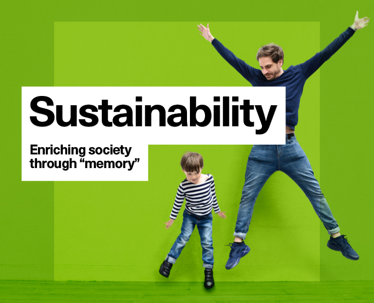 Sustainability Enrichening society through the power of memory